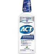 ACT Mouthwash, Anticavity Fluoride, Whitening, Gentle Mint