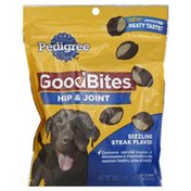 Pedigree Dog Treats, Hip & Joint, Soft & Chewy, Sizzling Steak Flavor