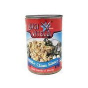 Luigi Vitelli White Clam Sauce With Garlic & Herbs
