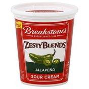 Breakstones Sour Cream, Jalapeno