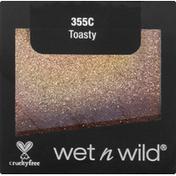 wet n wild Glitter Single, Toasty 355C