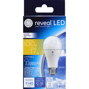 GE Light Bulb, LED, 17 Watts