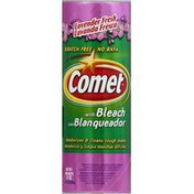 Comet Cleanser, Scratch Free, with Bleach, Lavender Fresh