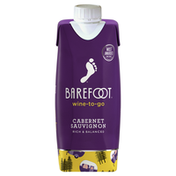 Barefoot Barefoot-To-Go Cabernet Sauvignon Red Wine Tetra