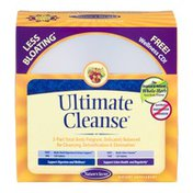 Nature's Secret Ultimate Cleanse 2 Part Total Body Detoxification Program with Wellness CD