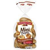 Pepperidge Farm®  Mini Brown Sugar Cinnamon Bagels