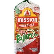 Mission Tostadas, with Tajin
