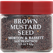 Morton & Bassett Spices Mustard Seed, Brown