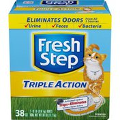 Fresh Step Cat Litter, Scoopable, Scented, Triple Action