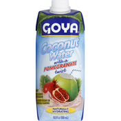Goya Pure Coconut Water with Pomegranate
