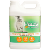 Paws Happy Life Clumping Cat Litter, Fragrance Free With Baking Soda