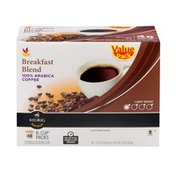 SB Breakfast Blend 100% Arabica Coffee Light Roast K-Cup Packs - 48 CT