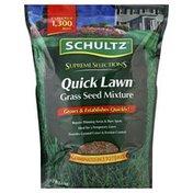 Schultz Grass Seed Mixture, Quick Lawn