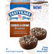 Tastykake Cookies & Creme Brownies