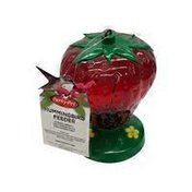 Perky Pet Strawberry Plastic Hummingbird Feeder