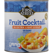 First Street Fruit Cocktail In Extra Light Syrup