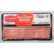 Krasdale Bacon, Turkey, Maple, Sliced
