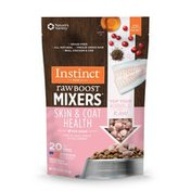 Instinct Raw Boost Mixers Skin & Coat Health Recipe Grain-Free Freeze-Dried Dog Food Topper