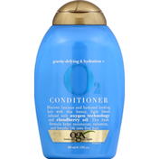 OGX Conditioner, Gravity-Defying & Hydration + O2