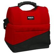 Igloo Cooler Bag, Red/Black, 22 Cans