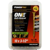 Power Pro Screws, Multi-Material, Exterior