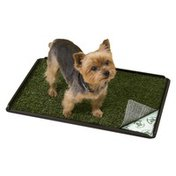 """Pooch Pads Indoor Turf Dog Potty Plus For Dogs Up To 20 Lbs. 24"""" L X 16"""" W X 1"""" H"""