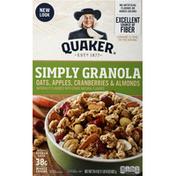 Quaker Simply Granola Oats, Apples, Cranberries & Almonds
