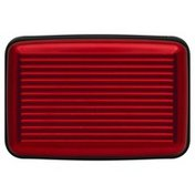Dmm Travel Wallet, Aluminum, Red, Not Packed