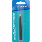 CareOne Deluxe Slant Tip Tweezers