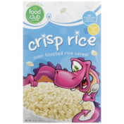Food Club Crisp Rice Oven Toasted Cereal
