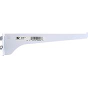 Kv Shelf Bracket, White, 10 Inch