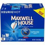 Maxwell House The Original Roast Medium Roast 100% Pure K-Cup® Coffee Pods Value Pack
