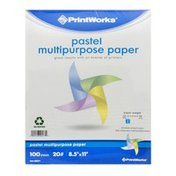 PrintWorks Pastel Multipurpose Paper 20lb