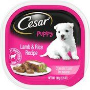 CESAR Classic Loaf in Sauce Lamb & Rice Recipe Canine Cuisine
