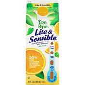 Tree Ripe Lite & Sensible with Vitamins No Pulp Orange Juice Beverage