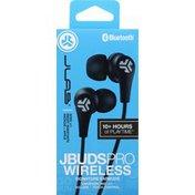 JLab JBuds Pro Bluetooth Signature Earbuds - Black