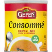 Gefen Soup & Seasoning Mix, Consomme, Chicken Flavor