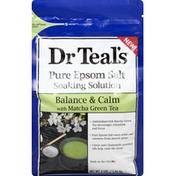 Dr. Teal's Soaking Solution, Pure Epsom Salt, Balance & Calm
