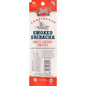 Dietz & Watson Swiss Sausage Snacks, Smoked Sriracha