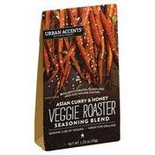 Urban Accents Veggie Roaster, Seasoning Blend, Asian Curry & Honey