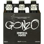 Flying Dog Beer, Imperial Porter, Gonzo