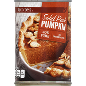 Roundy's Pumpkin, 100% Pure, Solid Pack