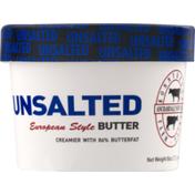 Ronnybrook Farm Unsalted European Style Butter