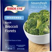 Birds Eye Broccoli Florets, Seasoned, Ranch