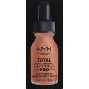 NYX Professional Makeup Drop Foundation, Mahogany TCPDF16