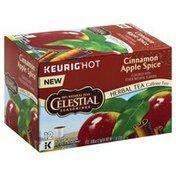 Celestial Seasonings Herbal Tea, Cinnamon Apple Spice Flavored, Caffeine Free, K-Cup Pods