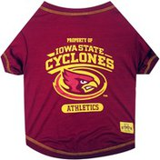 Pets First Extra Large Collegiate Iowa State Cyclones Dog Tee Shirt