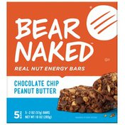 Bear Naked Chocolate Chip Peanut Butter Real Nut Energy Bars