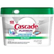 Cascade Platinum ActionPacs Dishwasher Detergent