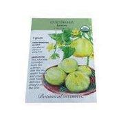 Botanical Interests Organic Lemon Cucumber Seeds